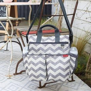 Skip Hop | Chevron Duo Diaper Bag